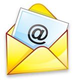 Contacter l'auteur enveloppe